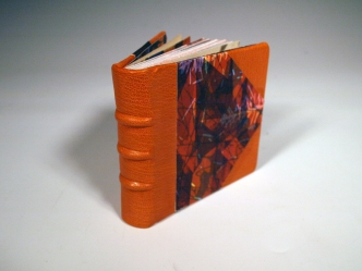 Leather Print Scrap Book