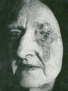 Does My Eye Bother You?, photo intaglio print