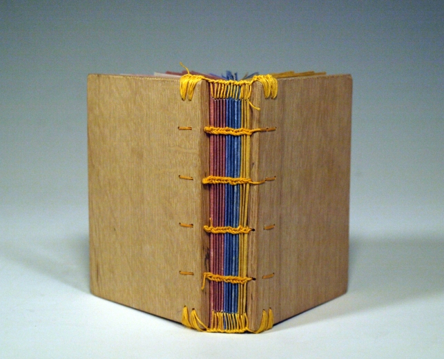 Wooden Panel Book